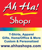 Ah Ha Shops Custom Apparel and Gifts