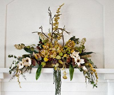Create A Floral Line Arrangement